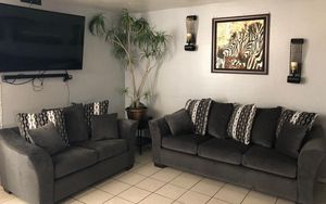 Gray sofa and loveseat ¡¡NEW!! for Sale in Phoenix, AZ