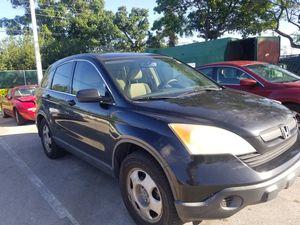 2007 Honda CRV 158k black tan for Sale in Hialeah, FL