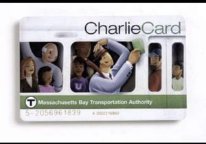 MBTA Charlie card loaded with $100 for Sale in Medford, MA