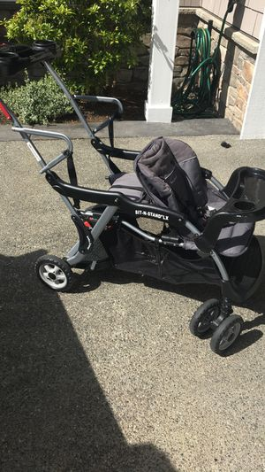 Sit and stand lx double stroller for Sale in Kent, WA