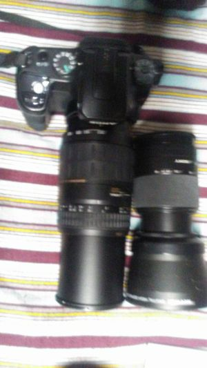 sony camera with lenses for Sale in Cottonwood Heights, UT