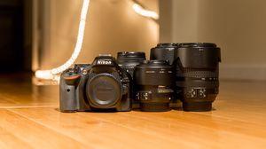 Nikon D5200, Four Lenses & Accessories. for Sale in Las Vegas, NV
