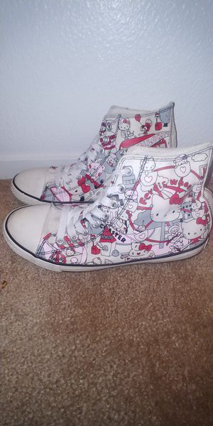 Hello kitty converse for Sale in North Las Vegas, NV