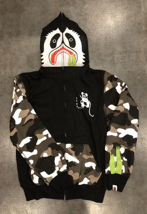 Bape panda jacket size L fits M for Sale in Los Angeles, CA