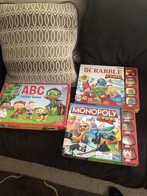 Kids Games and puzzle for Sale in Newberg, OR