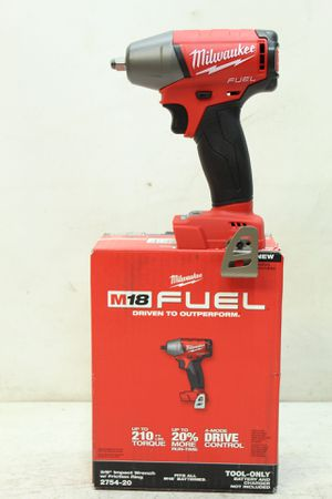 Milwaukee M18 FUEL 18-Volt Lithium-Ion Brushless Cordless 3/8 in. Compact Impact Wrench with Friction Ring (Tool-Only) for Sale in Bakersfield, CA