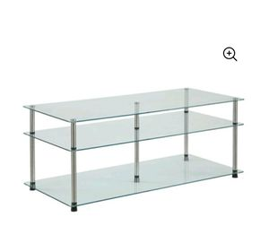 3 tier coffee table, glass for Sale in CTY OF CMMRCE, CA