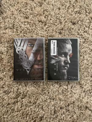 Vikings season 1&2 DVD for Sale in Citrus Heights, CA