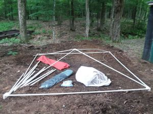 10 ft x 10 ft screen tent for Sale in Porter Corners, NY