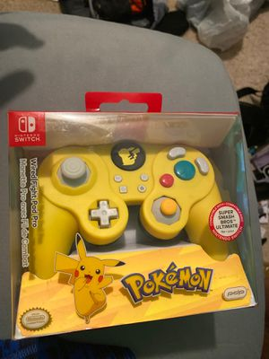 Nintendo switch controller Wired fighter pad pro for Sale in Jacksonville, FL