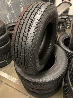 235/75/17 set of Hankook tires installed for Sale in Ontario, CA