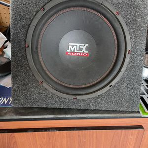 12in Sub & 760watt Amp for Sale in Goodyear, AZ