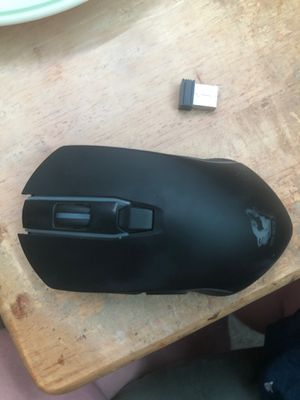 Free wolf multi colored black mouse for Sale in Highland, CA