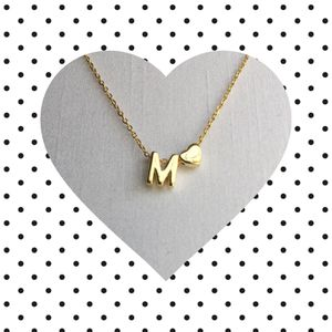 Letter M Initial Necklace for Sale in Warrington, PA
