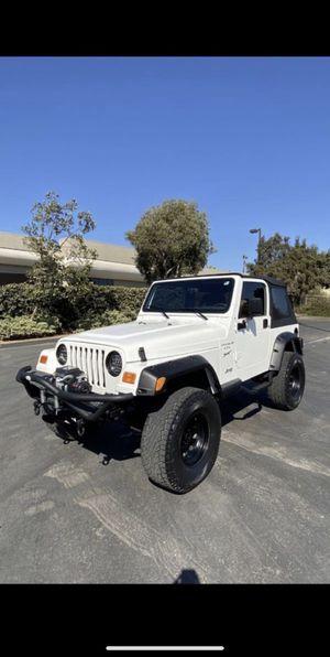 2000 Jeep Wrangler V6 for Sale in Chula Vista, CA