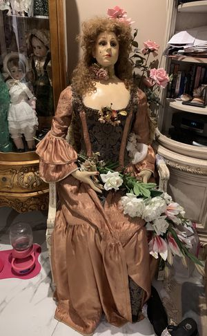 Antique wood jointed French Manican from Knotts Berry Farm Birdcage Theater for Sale in Laguna Hills, CA