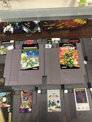 Turtles nes bundle for Sale in Los Angeles, CA