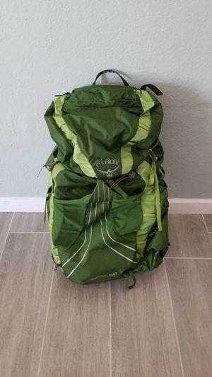 Osprey Exos 58 backpack for Sale in Mesa, AZ