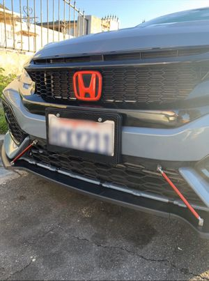 New carbon fiber license plate for Sale in San Diego, CA