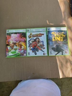 Xbox 360 games for Sale in Dinuba, CA