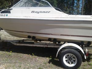 Bayliner boat and trailer for Sale in Olalla, WA