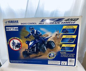 New Yamaha Radio Control YFZ 450 Vehicle Racing Toy Game Kids Children Indoor Outdoor for Sale in Kansas City, MO