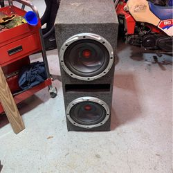"""2 12"""" Subwoofer for Sale in North Bend,  WA"""