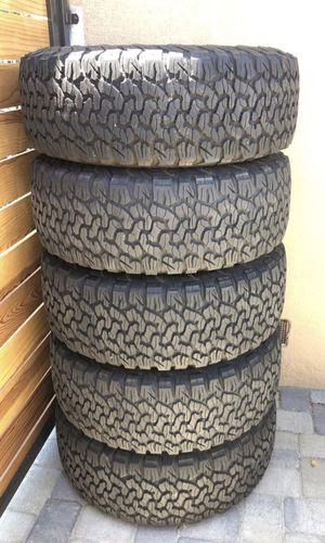 BFG All Terrain KO2 tires on AEV Savegre wheels for Sale in Huntington Beach, CA