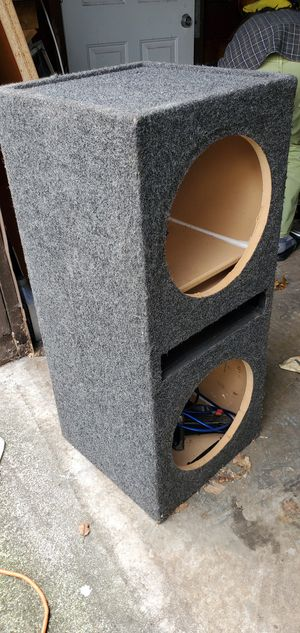 12 inch ported Subwoofer box for Sale in Lakewood, WA