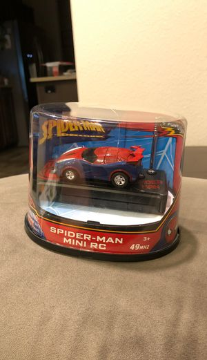 Spider Man Mini Rc car for Sale in Puyallup, WA