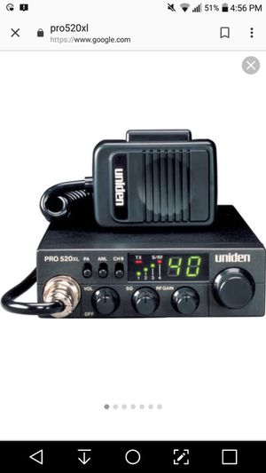 Uniden PRO520XL CB Radio & Mobile CB Antenna !! for Sale in San Diego, CA
