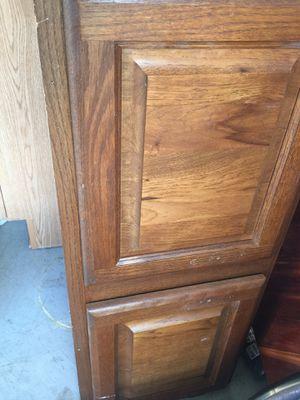 Oak kitchen cabinets $20 each for Sale in Dublin, OH