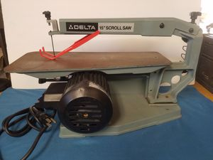 DELTA 15 INCH SCROLL SAW for Sale in Santee, CA