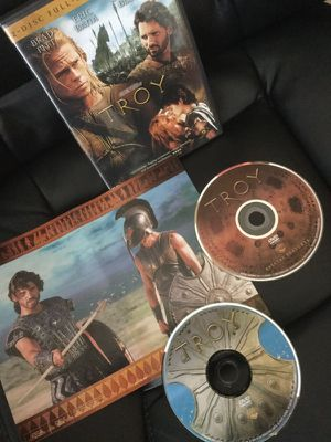 TROY 2 MOVIE DVD 🎥😁 Full Screen edition / Bonus Features for Sale in Alexandria, VA