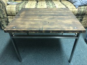 Reclaimed wood table for Sale in Jersey City, NJ
