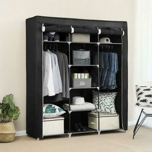 "New 69"" Portable Closet Wardrobe Clothes Shoes Storage Space Organizer Multiple Colors Available for Sale in ROWLAND HGHTS, CA"