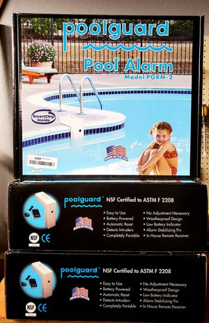 Pool guard Alarms new in box for Sale in Lake Elsinore, CA