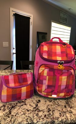 EMBARK Brand (Target) Multicolored Bookbag/Backpack & Matching Insulated Lunchbox for Sale in Snow Camp,  NC