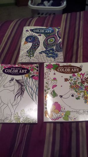 Mandala coloring books for Sale in Conroe, TX