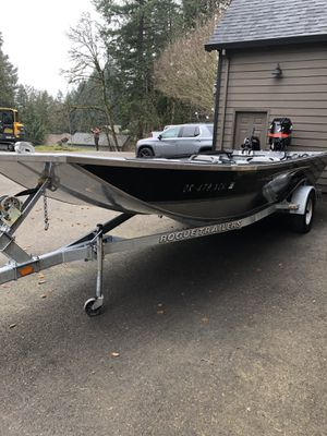 Alumaweld 20' sled for Sale in Oregon City, OR