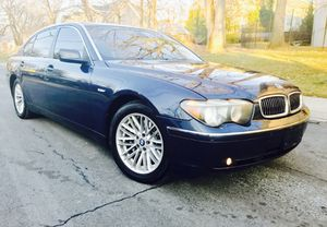 2005 BMW 745LI • Navigation • TV • Camel Leather • Clean title for Sale in Takoma Park, MD