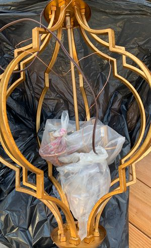 Super cute BoHo chandelier New and Never Used! for Sale in Santa Ana, CA