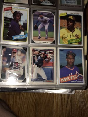 Baseball Cards 70's, 80's, and 90's for Sale in Greer, SC