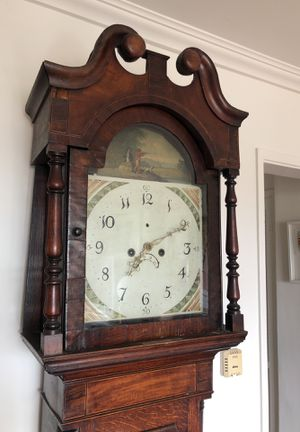 Antique 18th Century King George III Era Grandfather Clock for Sale in Los Angeles, CA