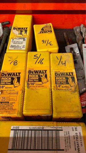 SDS Hammer Drill Bits for Sale in Plantation, FL