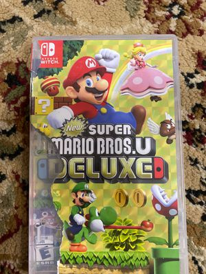 Nintendo switch super Mario bro's delux for Sale in Kenner, LA
