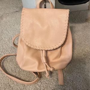 Pink Faux Leather Small Backpack/Purse for Sale in Itasca, IL