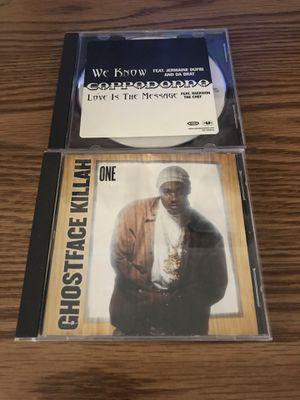 WU TANG CD LOT SINGLES GHOSTFACE KILLAH CAPPADONNA RAP HIP HOP for Sale in CAPE ELIZ, ME