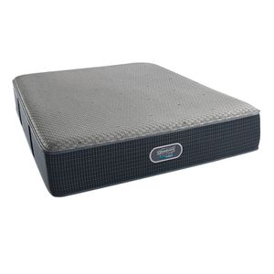 Queen Hybrid Woodhaven Mattress with platform bed frame for Sale in undefined