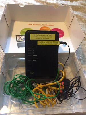 NETGEAR ATT 7550 DSL MODEM WIRELESS ROUTER for Sale in Murfreesboro, TN